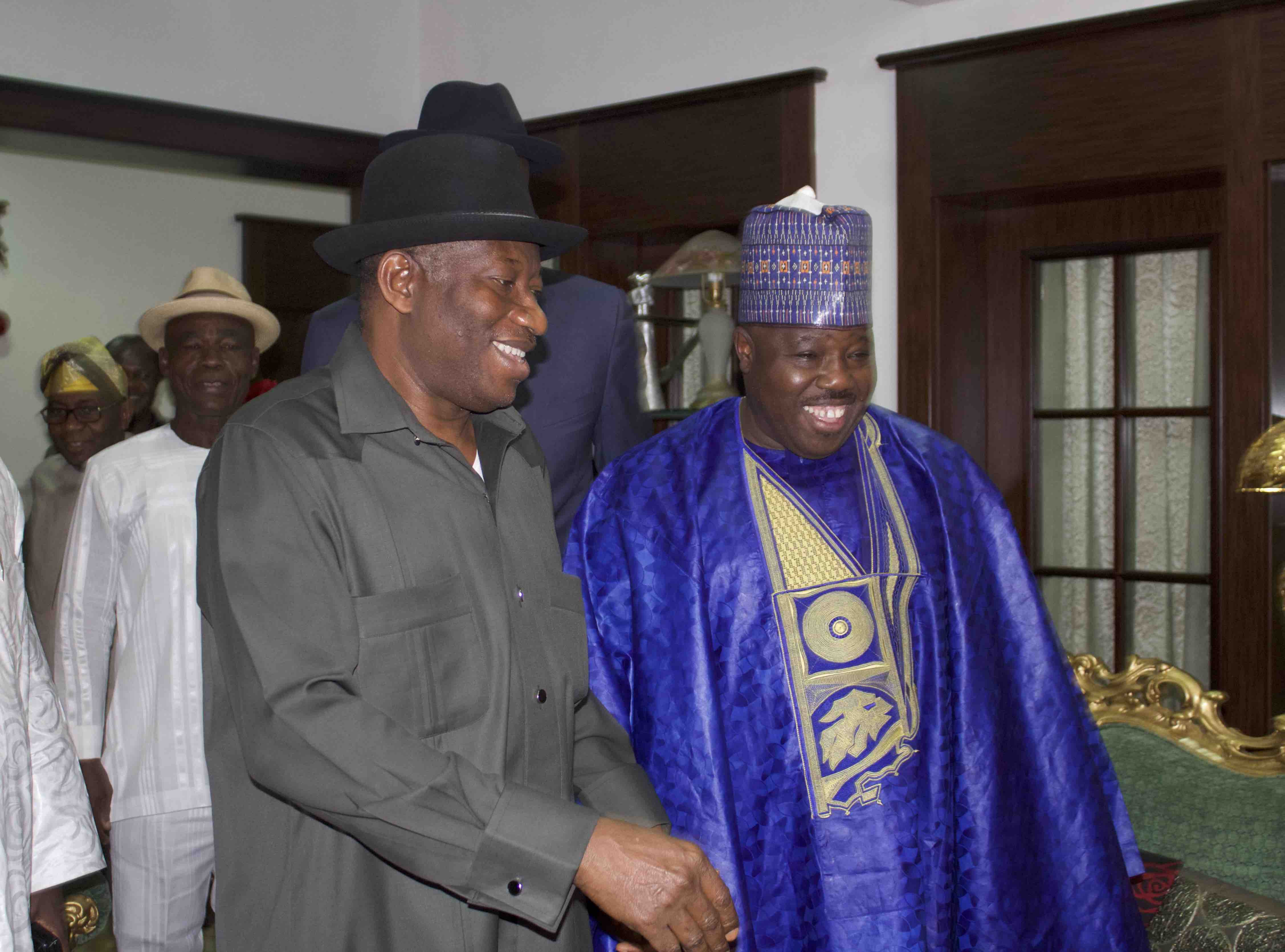 Aide debunks reports of Jonathan's endorsement of Sheriff